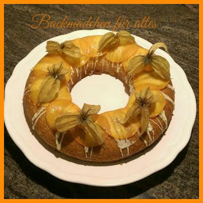 spanischer Orangenkuchen