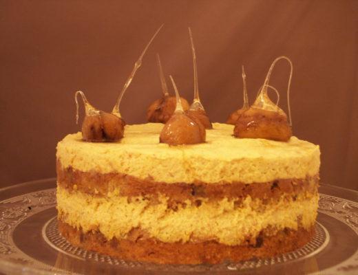 Maronen-Kürbis-Torte