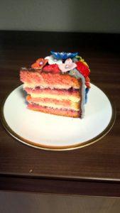 Blumenkorb-Torte