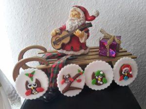 Weihnachts-Eulen