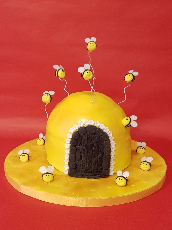 Bienen-Torte