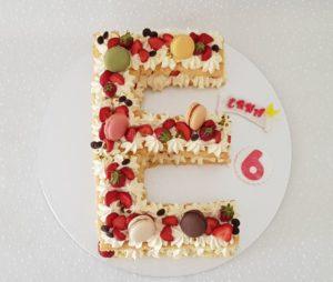 Letter Cake