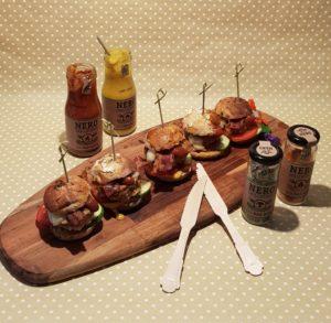 Miniburger vom Grill